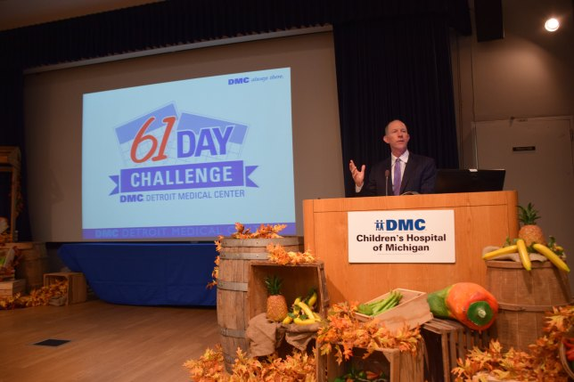 DMC CEO Joe Mullany at the #DMC61DayChallenge Kick Off Event